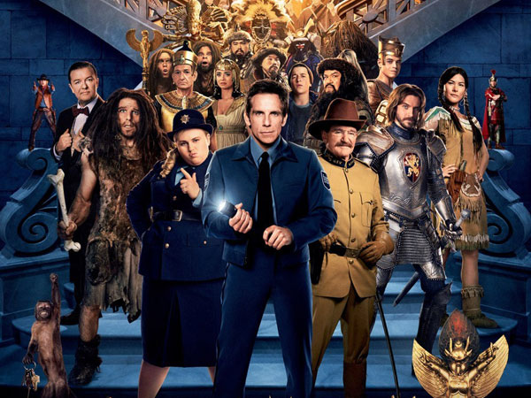 Ben Stiller Selamatkan Teman-teman Ajaibnya di 'Night at the Museum: Secret of the Tomb'