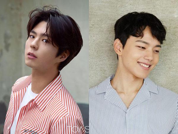 Aksi Mulia Park Bo Gum dan Yeo Jin Goo Ikut Kampanye 'Ice Bucket Challenge 2018'