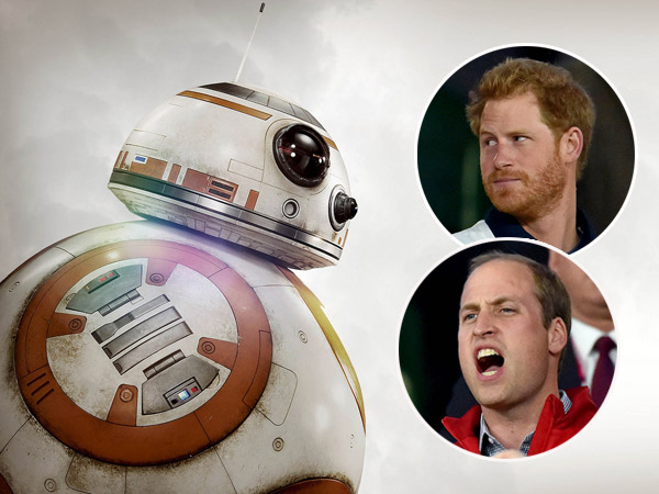 Rumor Pakai Kostum di Lokasi Syuting, Dua Pangeran Inggris Akan Jadi Cameo di 'Star Wars' Terbaru?