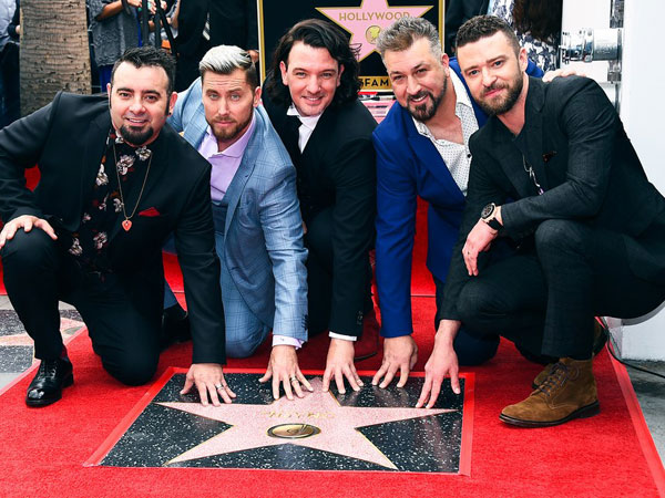 NSYNC Resmi Reuni dengan Anggota Lengkap di Walk of Fame Hollywood!