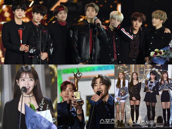 BTS Raih Daesang, Berikut Daftar Lengkap Pemenang '27th Seoul Music Awards'
