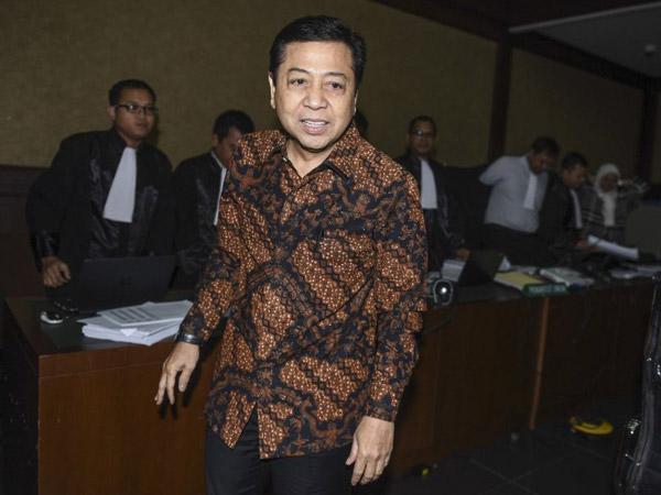 Teka-teki Hilangnya Setya Novanto: Dijemput Tamu Misterius?