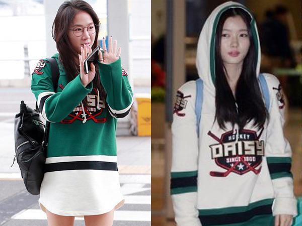 Hockey Hoodie Kembar Soyu Sistar vs Kim Yoo Jung, Who Wore It Better?