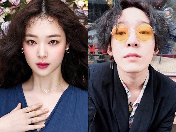 Tunjukan Kedekatan, Sulli Alih Profesi Jadi Make Up Artis Nam Taehyun?