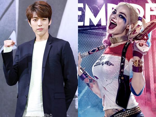 Kocaknya Sungyeol Infinite Bergaya a la Harley Quinn 'Suicide Squad'