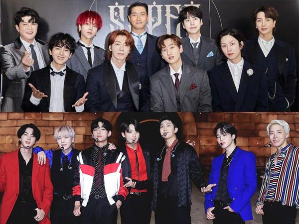 Super Junior Hingga BTS Menangkan Voting Online The Fact Music Awards 2021