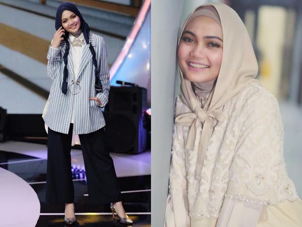 Simak Gaya Hijab Rina Nose yang Sempat Jadi Tren Sebelum Lepas Jilbab