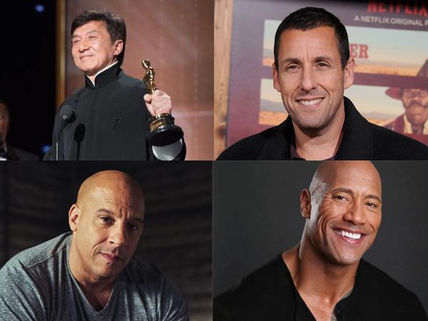 Aktor dengan Bayaran Tertinggi di Tahun 2017 Versi Forbes, Siapa Saja?