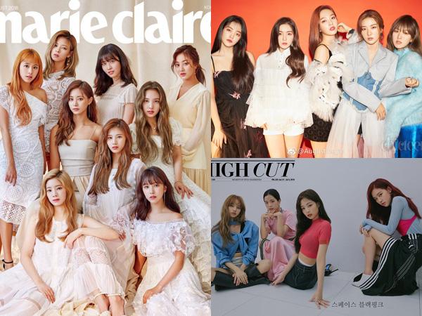Dipuncaki 'Big 3', Inilah Top 10 Girl Group dengan Penjualan Album Terbanyak Selama 2018
