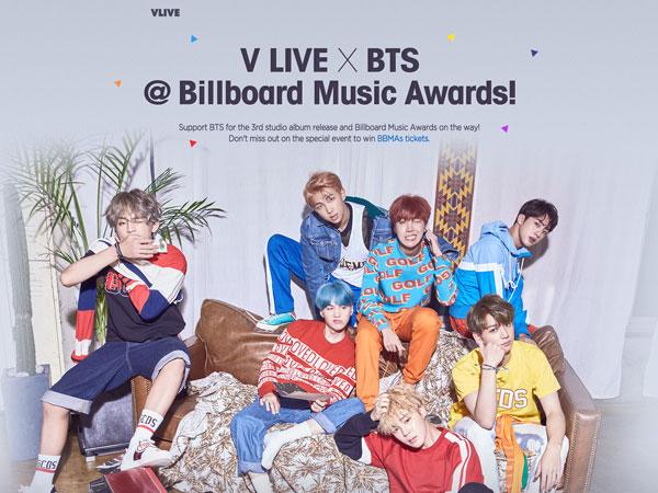 Kehadiran BTS di BBMAs 2018 Bakal Disiarkan Langsung Lewat Naver V Live!