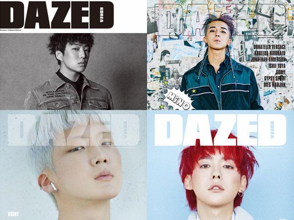 WINNER Tampil Stylish dengan Denim dalam Cover Individu Majalah Dazed Korea