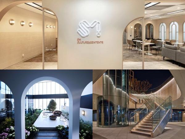 Mengintip Interior Gedung Baru SM Entertainment yang Modern dan Minimalis