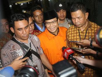 Wakil Ketua DPR Taufik Kurniawan Diinterogasi KPK Soal Sumber Uang Suap