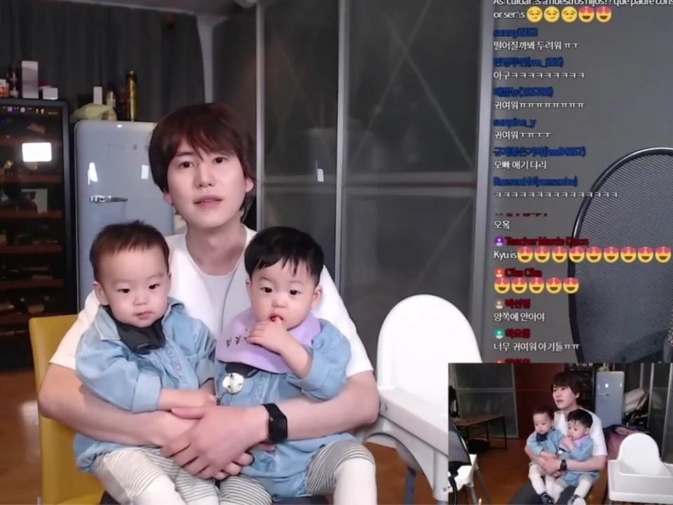 Kyuhyun Ajak Keponakan Live Bareng, Fans: Sudah Cocok Jadi Bapak