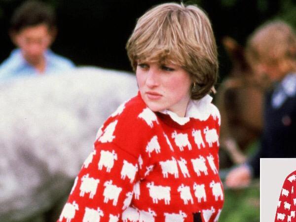 Sweater Ikonik Putri Diana Akan Dirilis Kembali, Berapa Harganya?