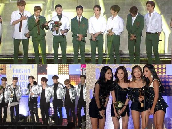 Inilah Para Idola K-Pop Peraih Penghargaan di '25thSeoul Music Awards'