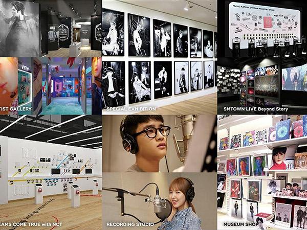 Intip Detil Lokasi Wisata Inovasi Terbaru SM Entertainment, SMTOWN Museum