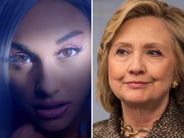 Hillary Clinton Muncul di Video Musik Ariana Grande untuk Kampanye Calon Presiden
