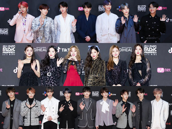 Para Petinggi Agensi Hiburan Pilih Artis, Rookie, Hingga Produser Paling Bersinar Tahun 2018