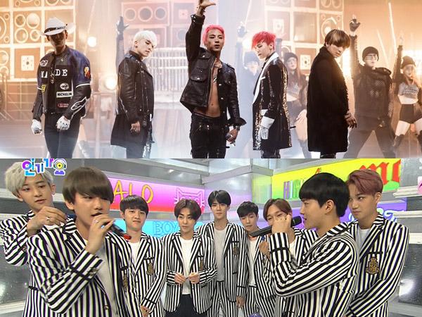 Tak Hanya 'M Countdown', Sistem Voting 'Inkigayo' Juga Buat Fans Big Bang dan EXO Geram!