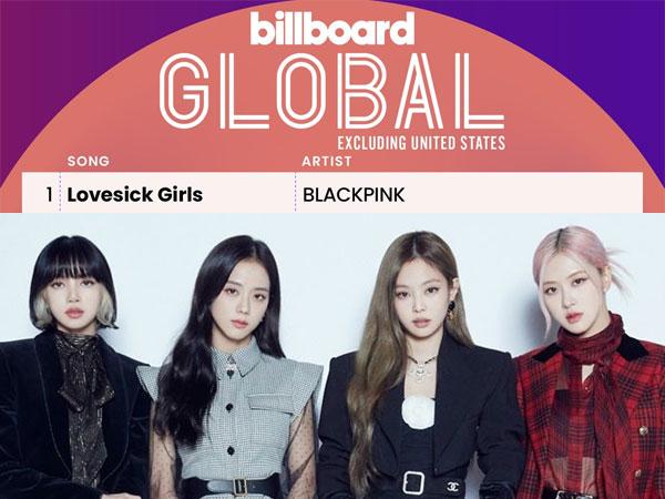 Melihat Performa Mengesankan BLACKPINK 'Lovesick Girls' di Chart Billboard