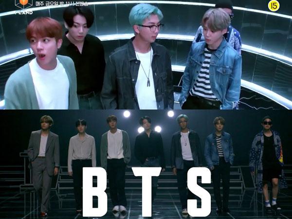 BTS Takjub Masuki Dunia 'I-LAND' dalam Teaser Episode Mendatang