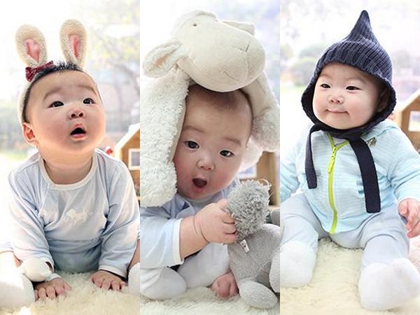 Song Il Gook Hadiahi Fans dengan Foto Bayi Triplet Untuk Rayakan Tahun Baru Imlek