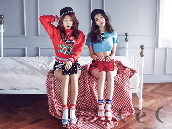 Soyu dan Dasom Sistar Curhat tentang Kesulitan Berkarir Sebagai Member Girl Group