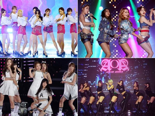 Inilah 6 Girl Group yang akan Bersaing Ketat di Comeback Musim Panas