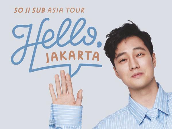 Harga Tiket Jumpa Fans So Ji Sub di Jakarta Mulai dari 800 Ribu