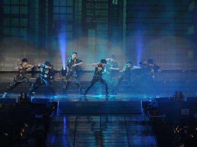 Wah, Panggung Konser Infinite di Jakarta Hampir Selesai Dibangun!