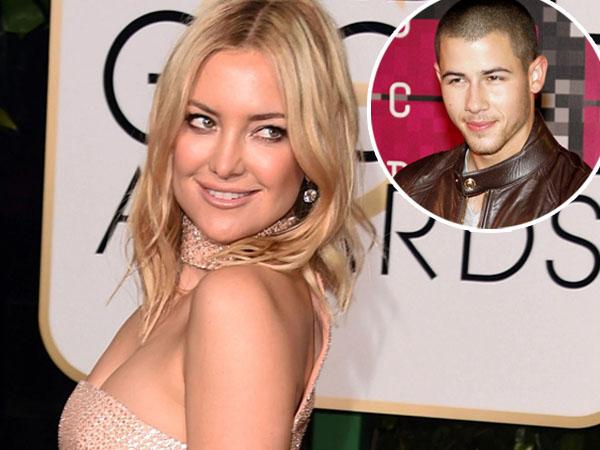 Ditanya Soal Rumor Asmaranya dengan Nick Jonas, Begini Jawaban Kate Hudson