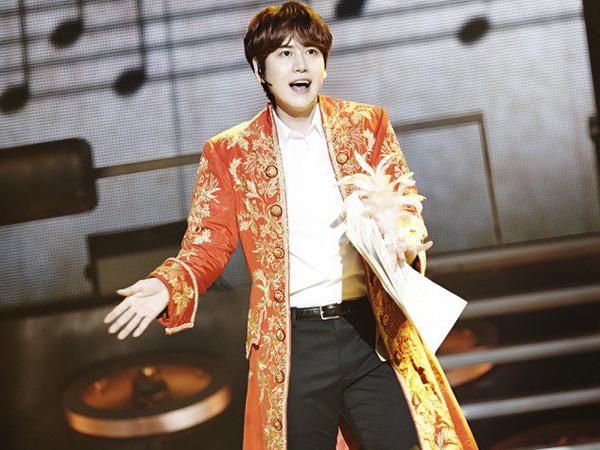 Buktikan Tak Hanya Jago Ballad, Kyuhyun Super Junior Tampilkan 'Cheer Up' di Konser Solonya
