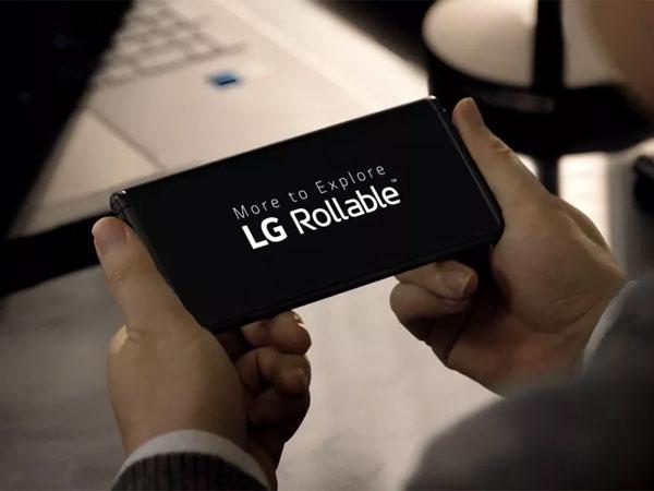 Penampakan Smartphone Layar Gulung LG Rollable yang Siap Meluncur Tahun Ini