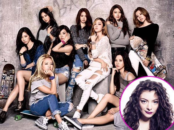 Wah,Lorde Sapa Girls' Generation di Jepang!