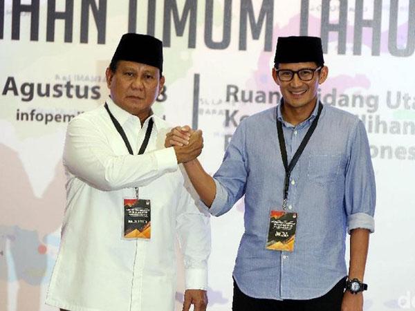Seruan Prabowo yang Tolak Hasil Pilpres 2019 dan Ajukan Gugatan ke MK
