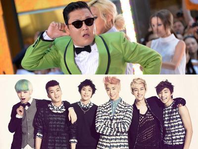 Foto Psy dan B.A.P Jadi Salah Satu Foto Terbaik 2012 di Situs Grammy Awards