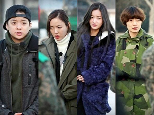 Member MBC 'Real Men' Prajurit Wanita Season 2 Harus Hadapi Cuaca Ekstrim Saat Syuting!