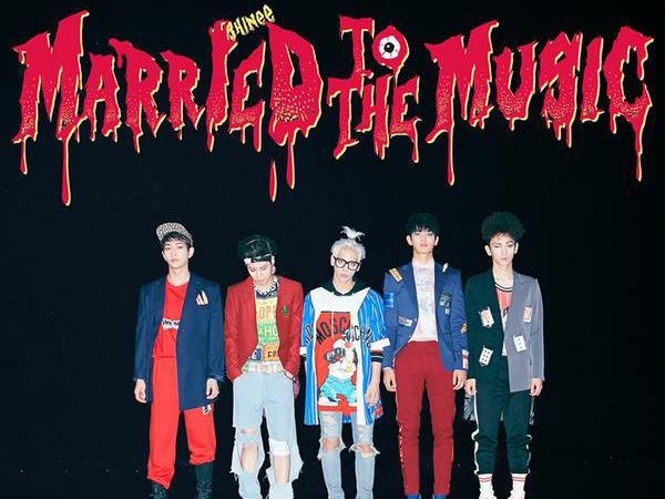 SHINee Ajak Fans Rayakan Halloween Lebih Awal Lewat Foto Teaser 'Married to the Music'
