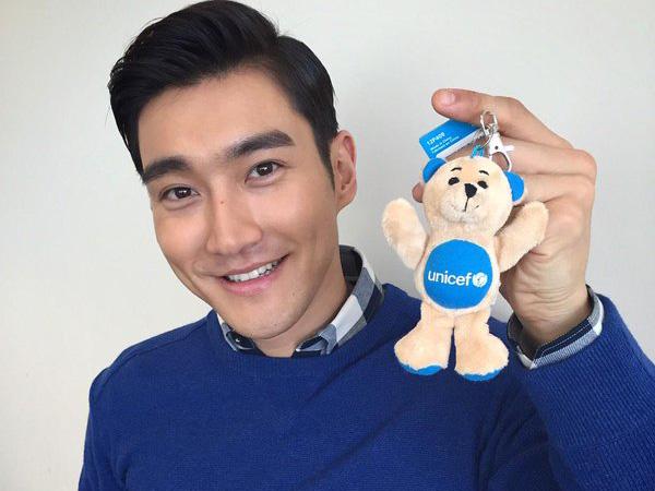 Wow, Siwon Diangkat Sebagai Wakil Khusus UNICEF Korea!