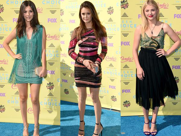 Inilah Penampilan Red Carpet Terbaik dan Terburuk Para Selebriti di 'Teen Choice Awards 2015'