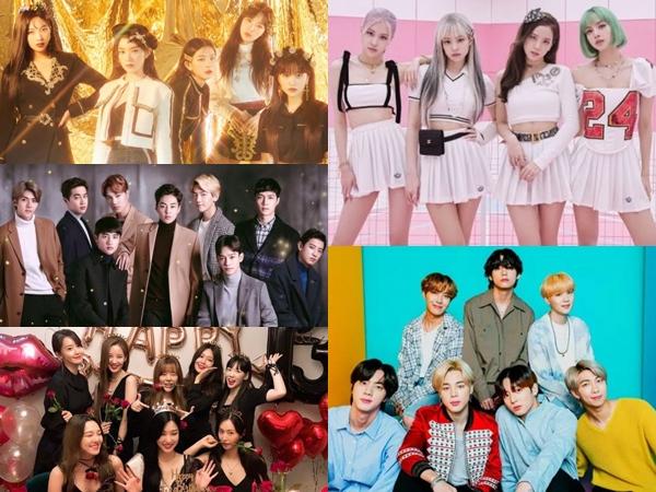 11 Grup dan Penyanyi K-Pop yang Punya 'Gelar Kehormatan'