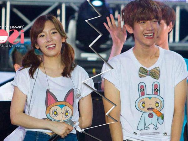 Sebelum Resmi Putus, Hubungan Taeyeon SNSD dan Baekhyun EXO Berkali-kali Putus Nyambung
