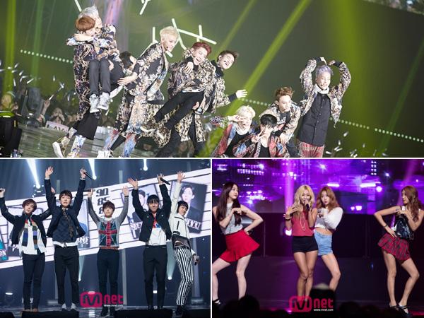 EXO, Sistar, WINNER, dan Lainnya Masuk dalam 10 Besar Nominasi 'Melon Music Awards 2014'!