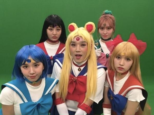 Kocak, Begini Aksi TWICE Saat Berubah Jadi Sailor Moon di 'SNL Korea'!