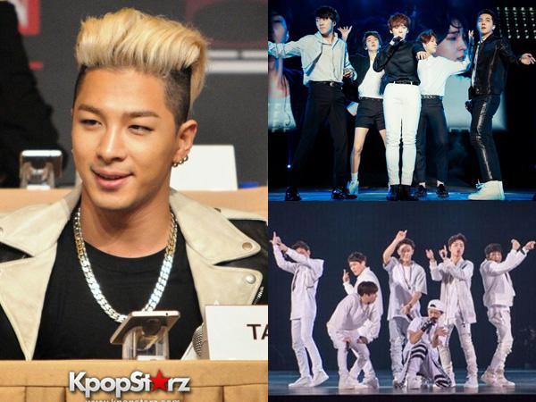 Ini Kata Taeyang Big Bang Tentang Perbedaan Dua Juniornya, WINNER dan iKON