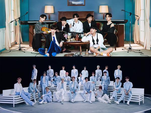BTS dan NCT Jadi Artis K-Pop Terlaris di AS Paruh Pertama Tahun 2021
