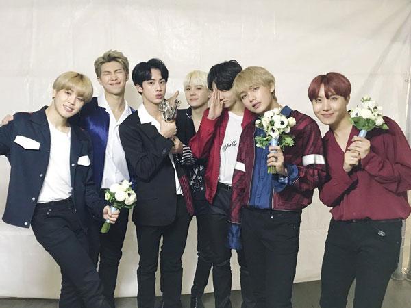 Lima Tahun Sejak Debut, BTS Dapatkan Daesang Pertamanya di 'Golden Disc Awards'
