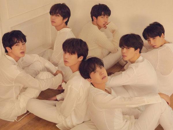 BTS Lebih Sendu di Rangkaian Foto Konsep Album 'Love Yourself: Tear' Selanjutnya