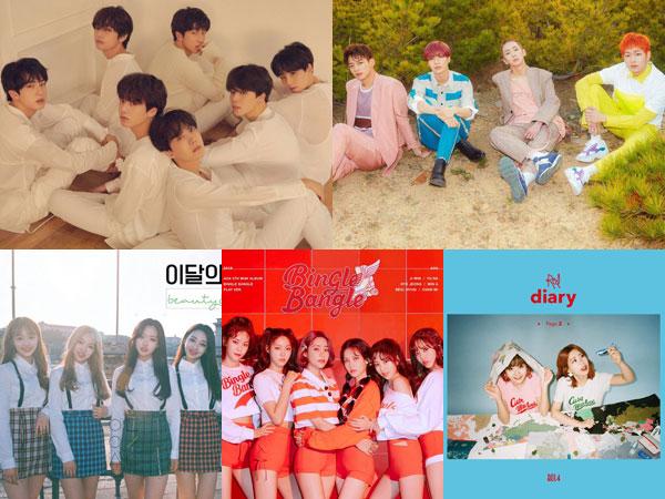 BTS Bertahan, SHINee Hingga Bolbbalgan4 Debut di Chart Billboard World Albums